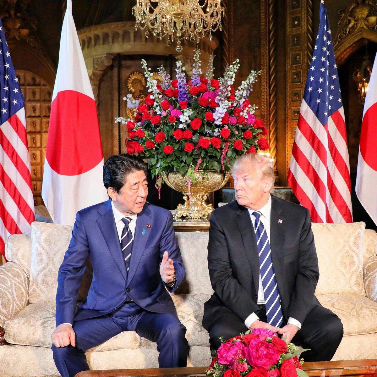 test ツイッターメディア - フロリダに到着し、早速トランプ大統領との首脳会談に臨みました。今日は、大半を北朝鮮問題に費やし、非常に重要な点で認識を一致させることができました。 「日本のために最善となるようベストを尽くす」 トランプ大統領は、来る米朝首脳会談で拉致問題を取り上げることを確約してくれました。 https://t.co/jmwobadARS