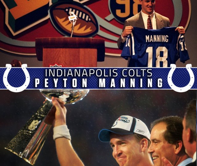On This Date 20 Years Ago The Colts Took Peyton Manning No 1 Overall The Rest Is History The 2018 Nfl Draft Starts April 26 On Nfl Network And Fox