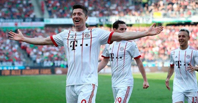 Robert Lewandoski del Bayern Munich.
