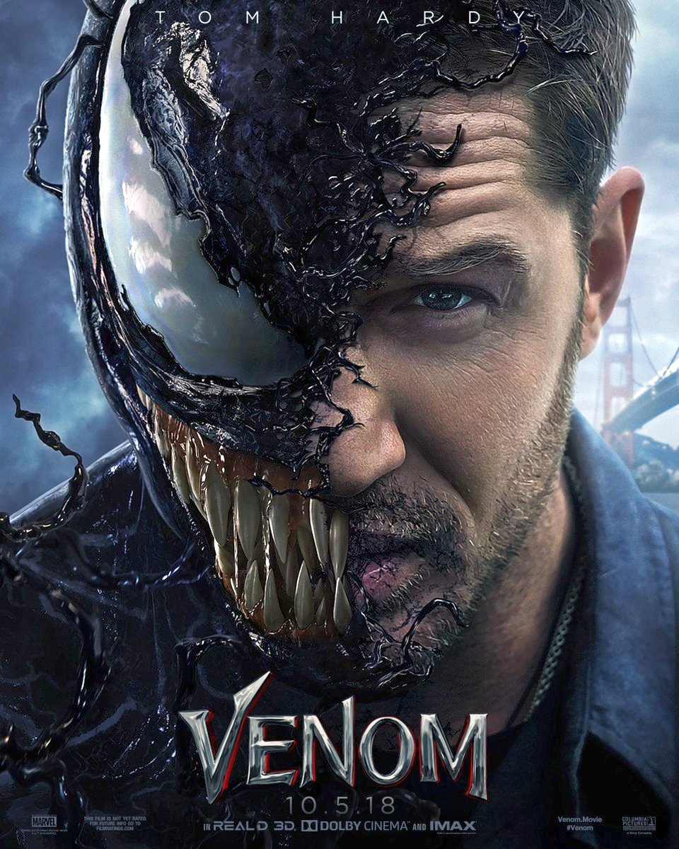 The First Venom Trailer & Poster Featuring Tom Hardy Is Here
