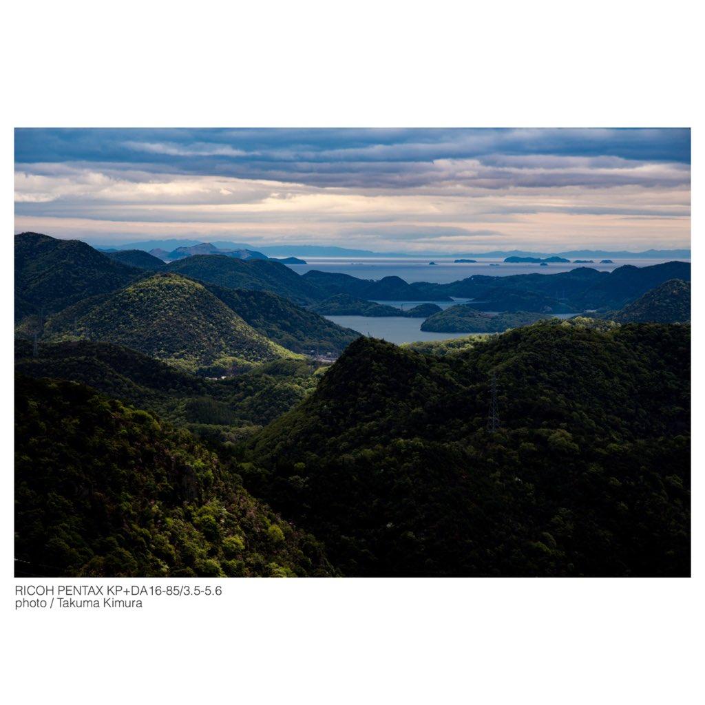 test ツイッターメディア - RICOH PENTAX KP+DA16-85-3.5-5.6 赤磐市の熊山神社に行く途中で見える景色。カメラを持って近所を撮影していると綺麗な場所に住んでるんだなと実感する。派手な絶景スポットは無いんだけど、落ち着いた美しい景色が心癒してくれる。 https://t.co/fapDcCCY2e