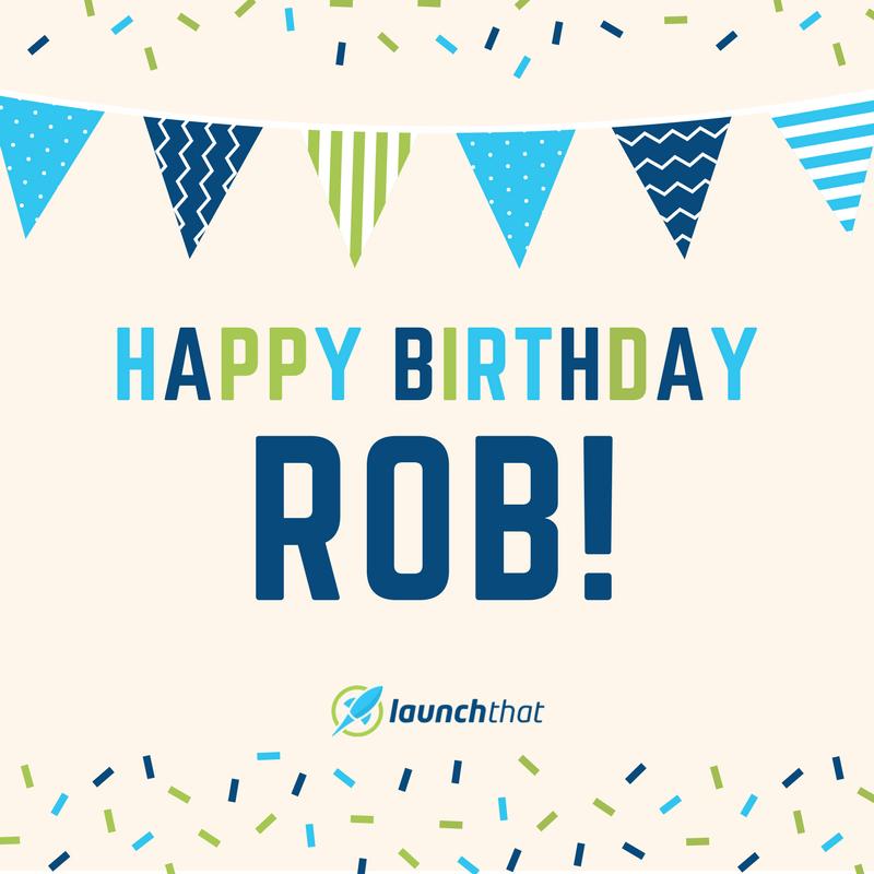 Happy Birthday Rob Images Mallpro