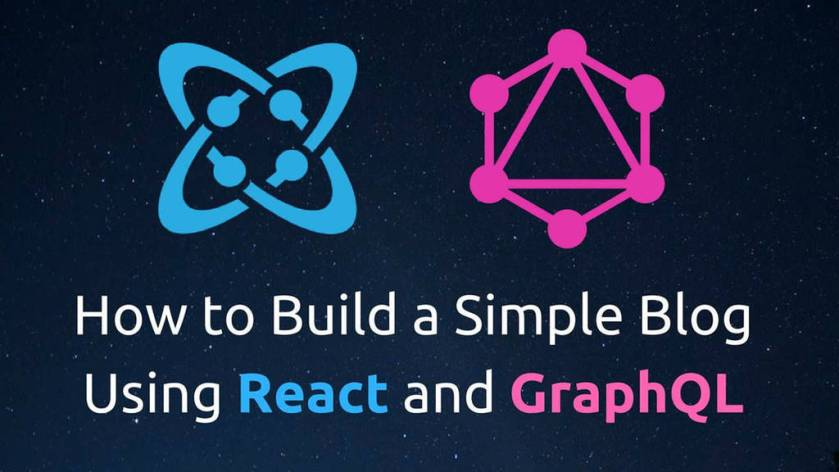 How to Build a Simple Blog Using React and GraphQL  ☞   #Reactjs #GraphQL