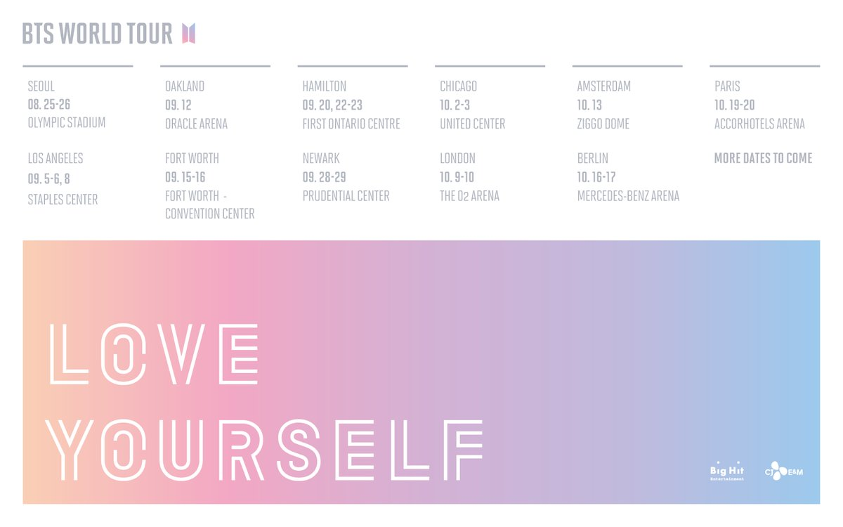 Image result for bts 2018 love yourself tour site:twitter.com