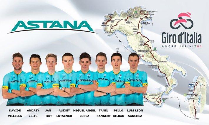 Equipo Astana Via: Astana Team