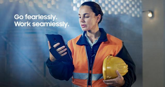 Get the rugged #tablet built to drive efficiency.  Get the Galaxy Tab...