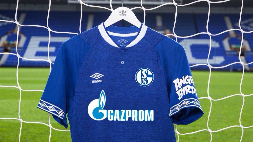 S049ers On Twitter Umbro Home Kit 18 19 Everton Schalke New Home Kit S04 Fcas04 Bundesliga