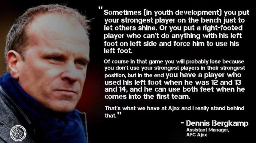 Image result for bergkamp quote