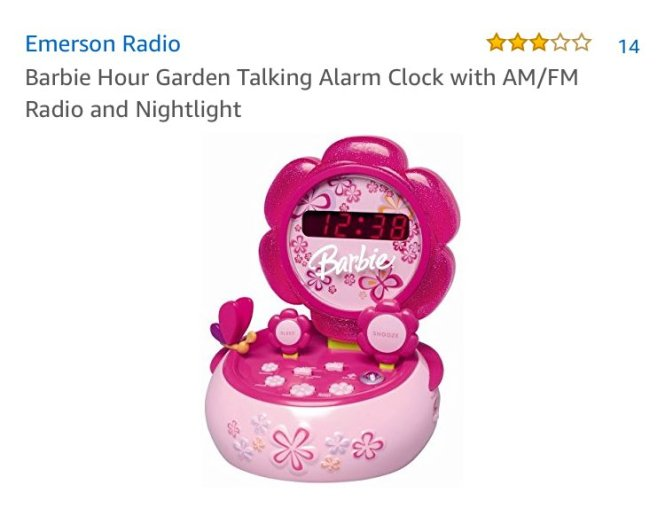 Do You Remember Having This Alarm Clock