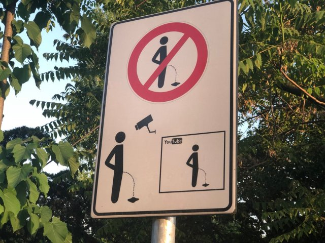 Image result for no pee at