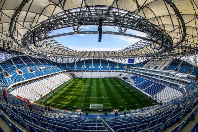 Estadios de Rusia 2018 Volgogrado Arena
