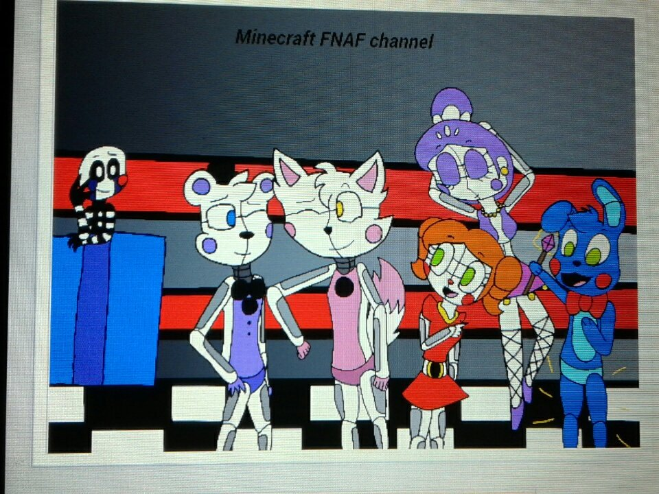Jane11 FNAF on Twitter   A fan art picture I did on IbsPAint X app