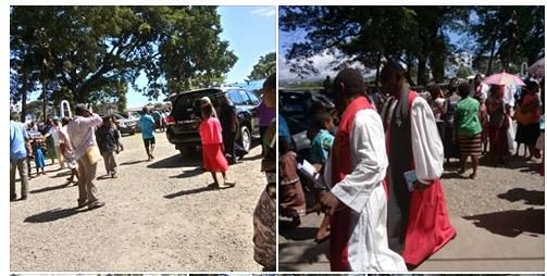 Service for the prelaunching of renewal and evangelism this Pentecost Sunday 20th May 2018 at St. Barnabas Cathedral , Honiara. The celebrant was…