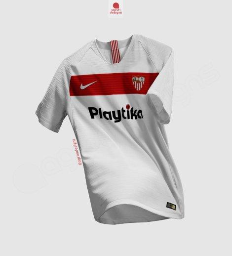 d0665e57 Concept kit: camisetas Nike del Sevilla FC 2018-2019