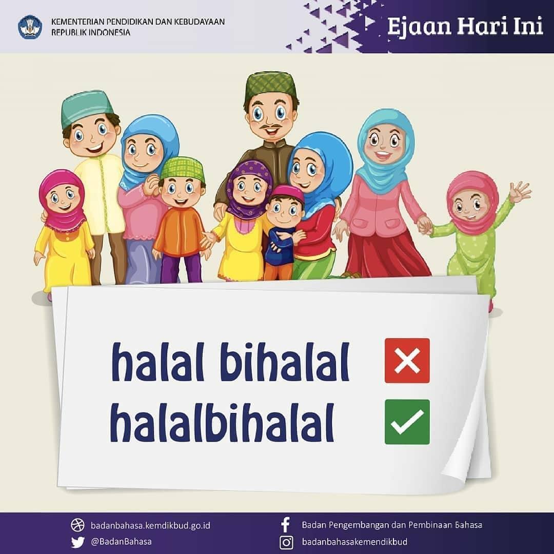 Ivan Lanin On Twitter Halalbihalal Bukan Halal Bi Halal Halal