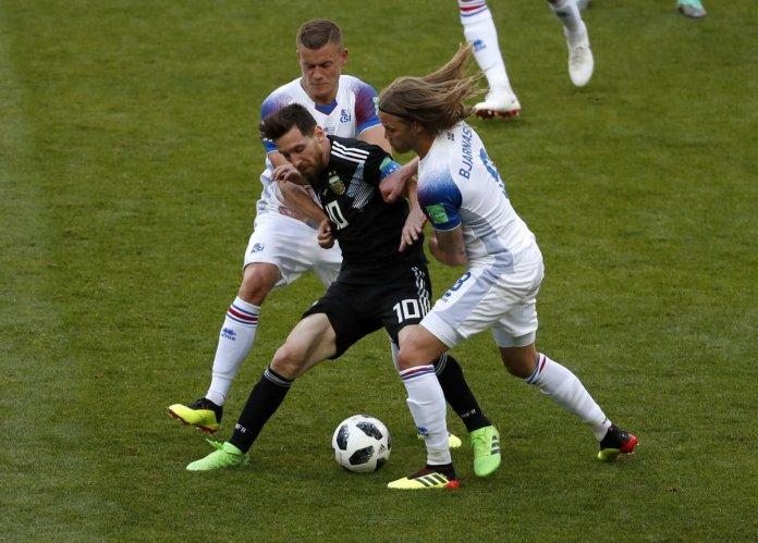 Repetición Argentina vs Islandia
