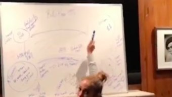 Let's Watch J-Lo Perfectly Breakdown The 'Moneyball' Concept On A Whiteboard