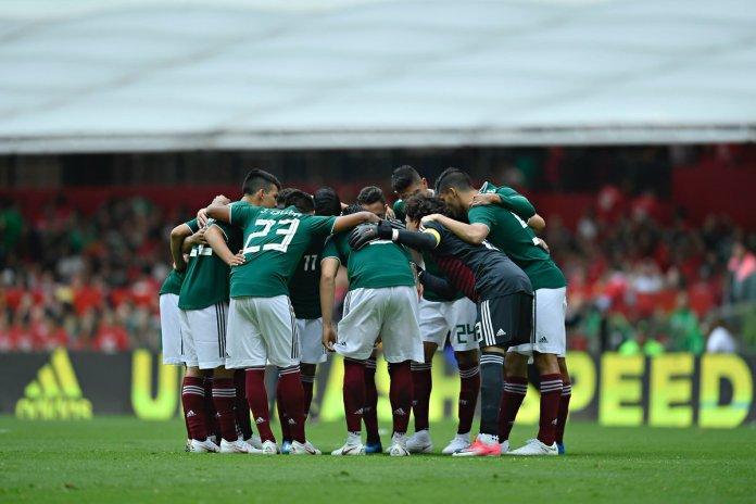 México vs Dinamarca.