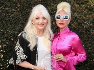 Lady Gaga and her mother - Born This Way