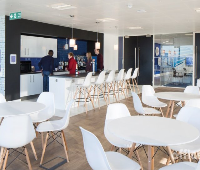 Our Client Brandview Created A Large Breakout Area With A Games Area And Bar For Staff To Relax And Enjoy Check Out The Rest Of Their Office On Our