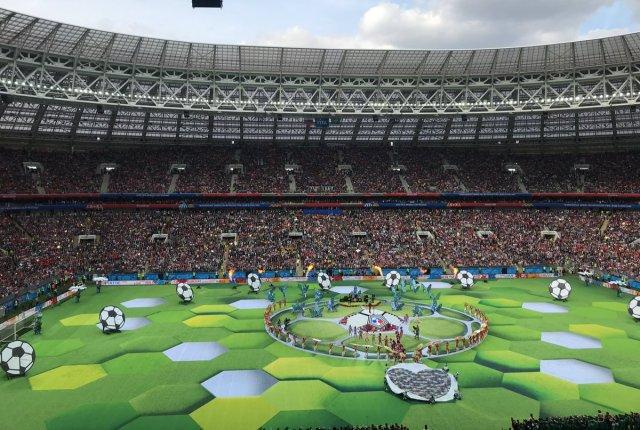 بالصور .. حفل إفتتاح كأس العالم 2018 في روسيا 29