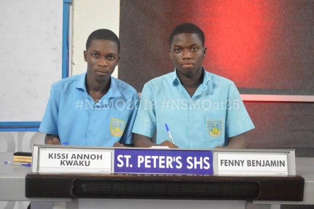 Image result for nsmq st peters