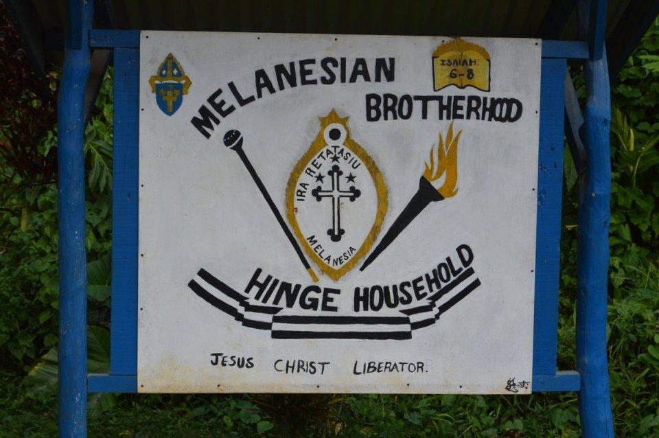 The EO also visited the Melanesian Brotherhood Hinge Household.