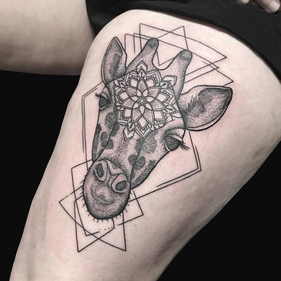 Monumental Ink On Twitter Another Beautiful Giraffe This One Was