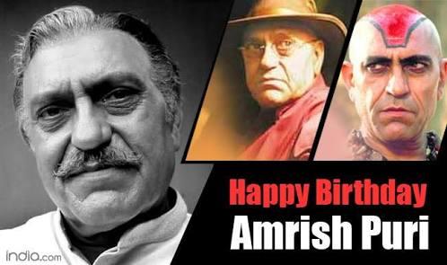 Amrish Puri S Birthday Celebration Happybday To