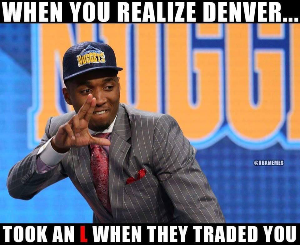 Nba Memes On Twitter Denver You Done Messed Up Spida