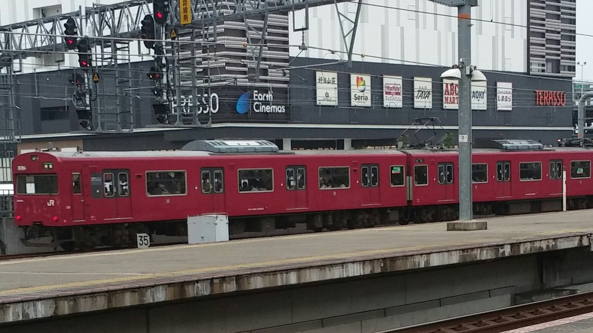 test ツイッターメディア - いま、大和路線、奈良線、阪和線の103系の廃車が急ピッチで進められてるが、廃車の意志を全く見せない103系顔の103系が、姫路にいます。 https://t.co/hsjeYcranj