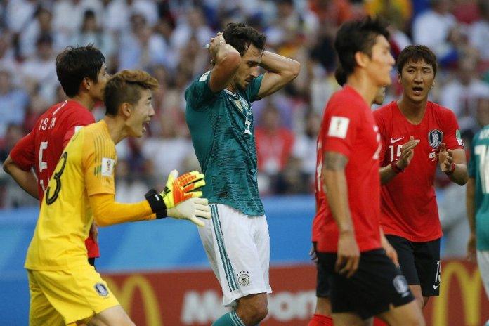 Goles de Alemania vs Corea del Sur Mundial 2018