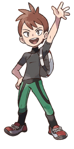 Image result for trace pokemon let's go
