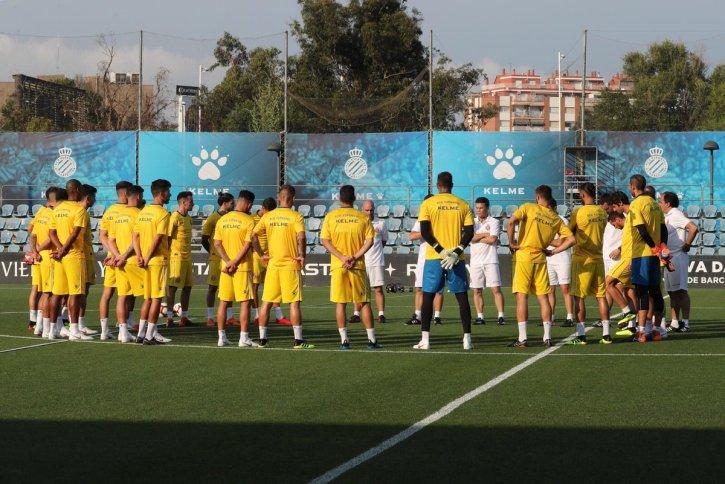 Camiseta entrenamiento Espanyol