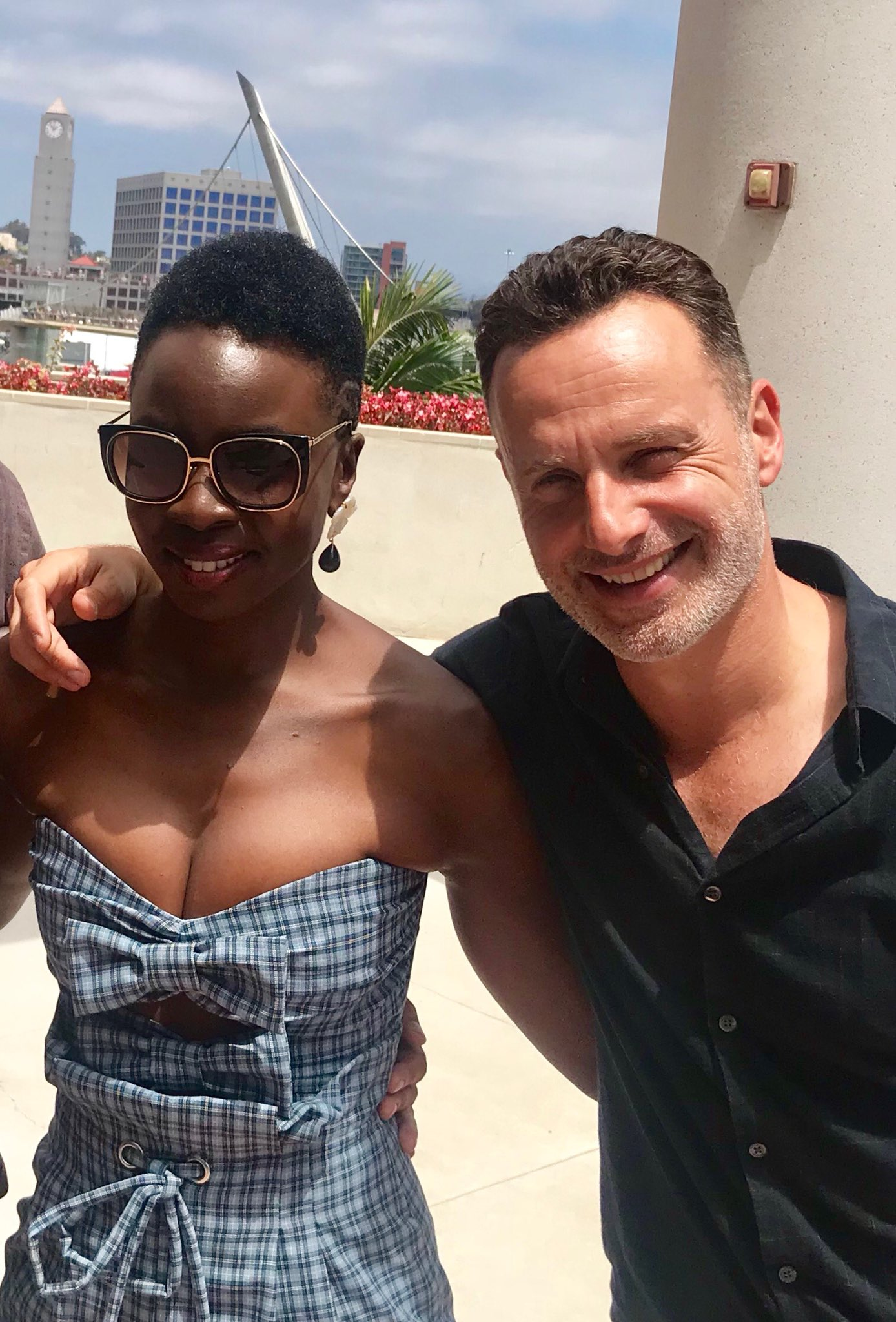 Danai Gurira On Twitter Quot I Truly Believe Andrew Lincoln