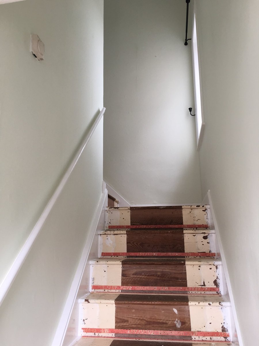 Decoratingtrade Hashtag On Twitter   False Ceiling On Stairs   Angled   Low Budget   Tv Lounge Ceiling   Residential   Simple