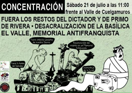 test Twitter Media - Sabado 21 de julio a las 11 en Cuelgamuros #ElValleSÍseToca https://t.co/5JUozXU4Sl