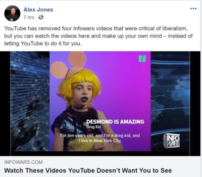 Resultado de imagen de desmond is amazing youtube alex jones