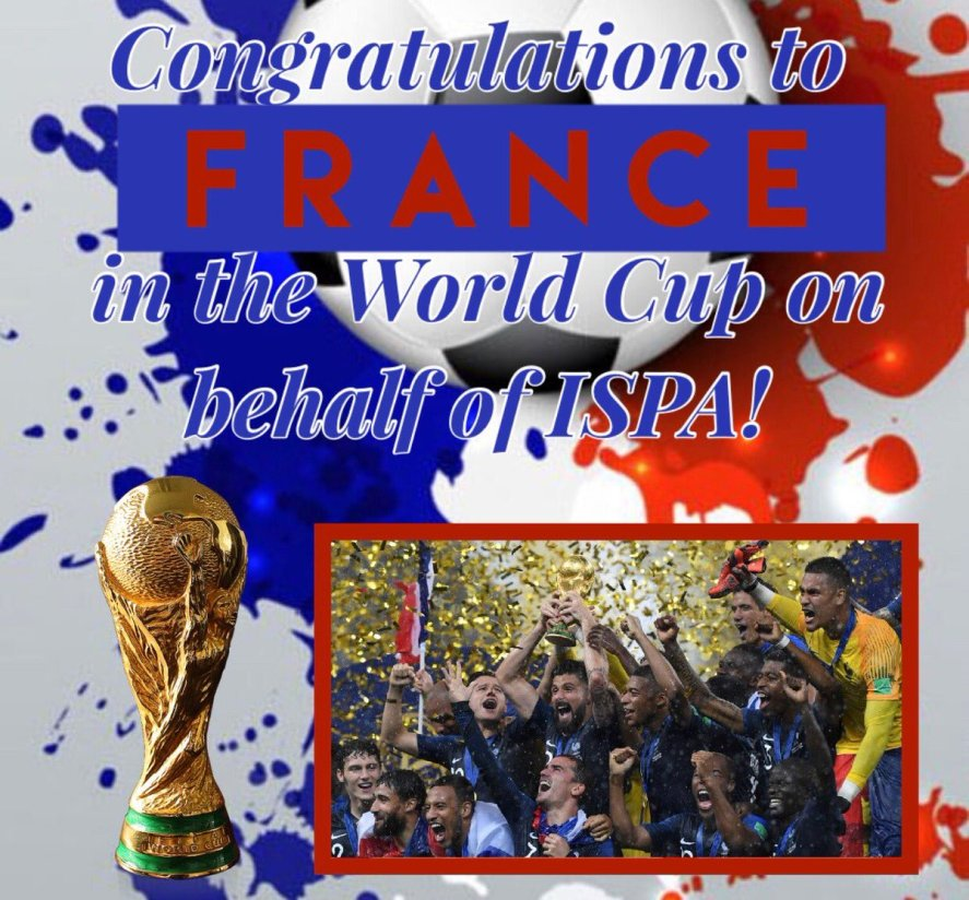 Congrats France World Cup Winner