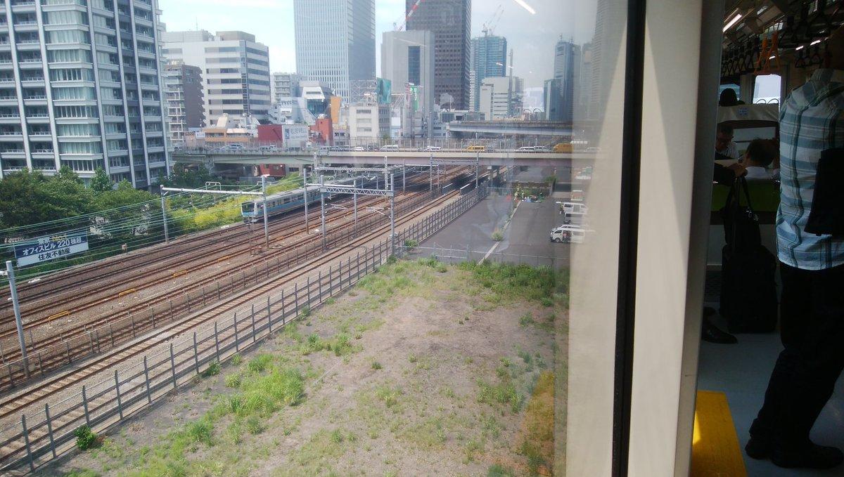 test ツイッターメディア - 久々に利用した東京モノレールから見る浜松町手前の車窓。 JR東日本グループとは言え、先に発表のあったJRによる羽田空港直通新線が実現したらどうなるやら、と活用が見込まれる休止中の貨物線用地。そちらを見下ろしながら浮かべてしまう https://t.co/biRkuYBps7