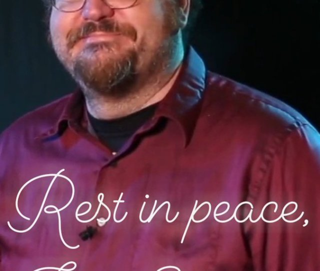 Itzmoe On Twitter Still Missing You Today Jon Schnepp A Day Of Sdcc News Is Just Not The Same Without Your Positivity Passion Enthusiasm