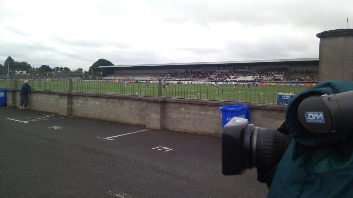 test Twitter Media - Live from Newbridge for @RTEgaa  as @KildareGAA take on @Galway_GAA  in round two of the Super 8's. Live on RTE 1 now. https://t.co/rOObIEmHND