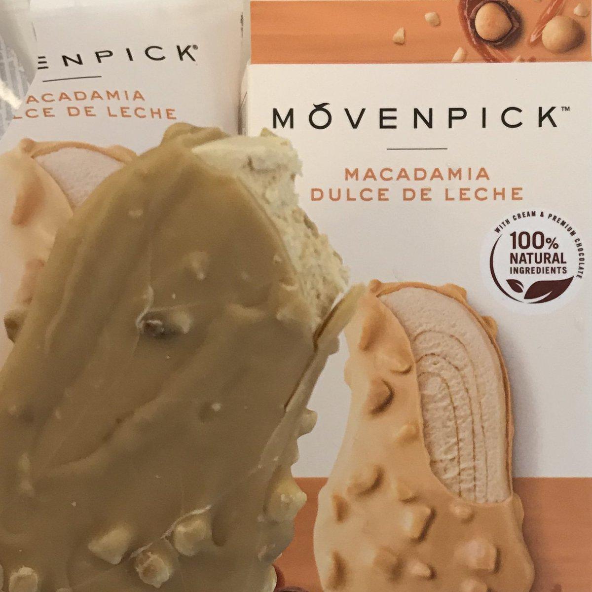 Mövenpick: the art of Swiss ice cream with dulce de leche & macadamia post #hike Wilson trail section 2