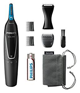 Philips Series 5000 Battery-Operated Nose, Ear & Eyebrow Trimmer from...