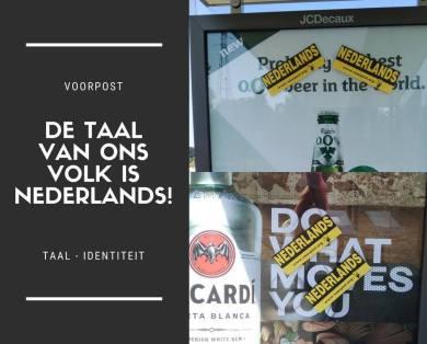 Afbeeldingsresultaat voor taalstrijd nederlands