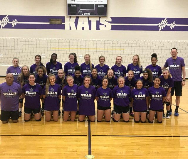 Joe Lind On Twitter We Had A Great Time Hosting Willisvball Team Camp Looking For Another Great Season For The Lady Kats Nextlevel