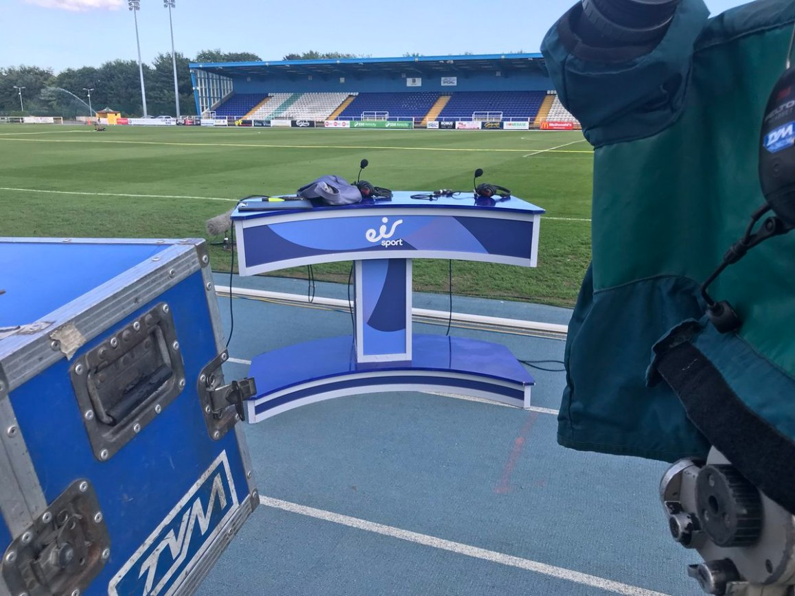 test Twitter Media - We are in Waterford RSC for the League of Ireland Premier division Match between Waterford FC V Cork City FC Live in EirSport https://t.co/3D8vm0Edfu