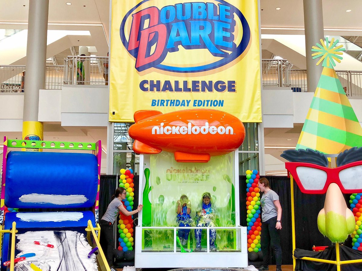 Mall Of America On Twitter It Isn T A Nickuniverse Celebration Without Slime Catch The Doubledare Challenge Nickubirthday Edition Daily At 1 4 P M In West Market Square Https T Co Td7ojksxwv Https T Co Fckv1umcrf