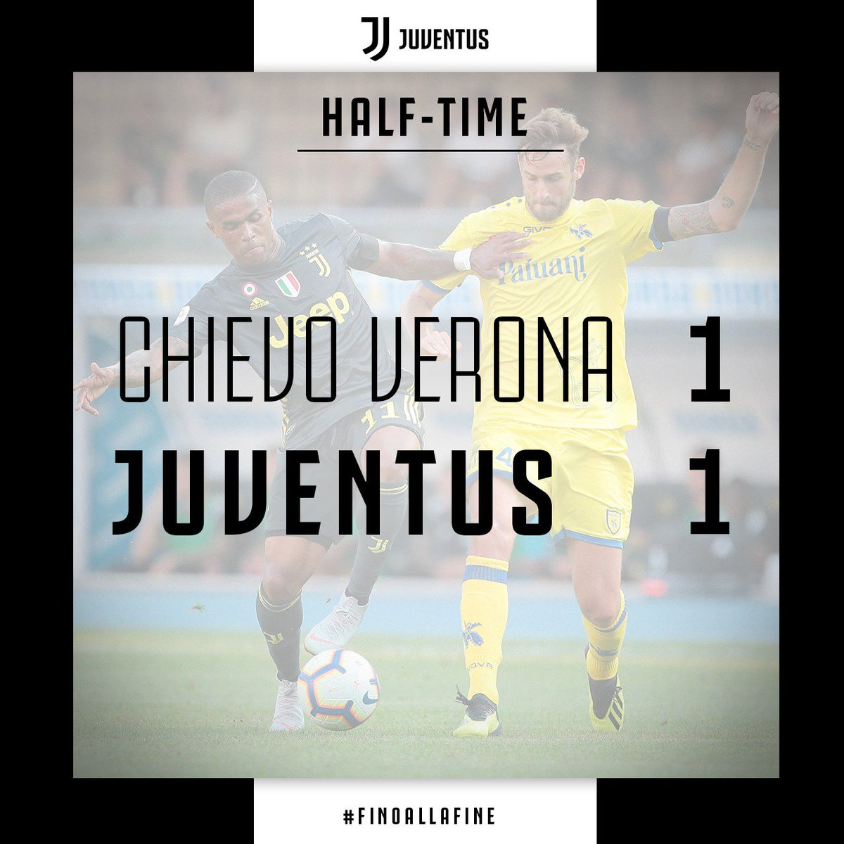 Chievo Verona Vs Juventus Serie A 2018 2019
