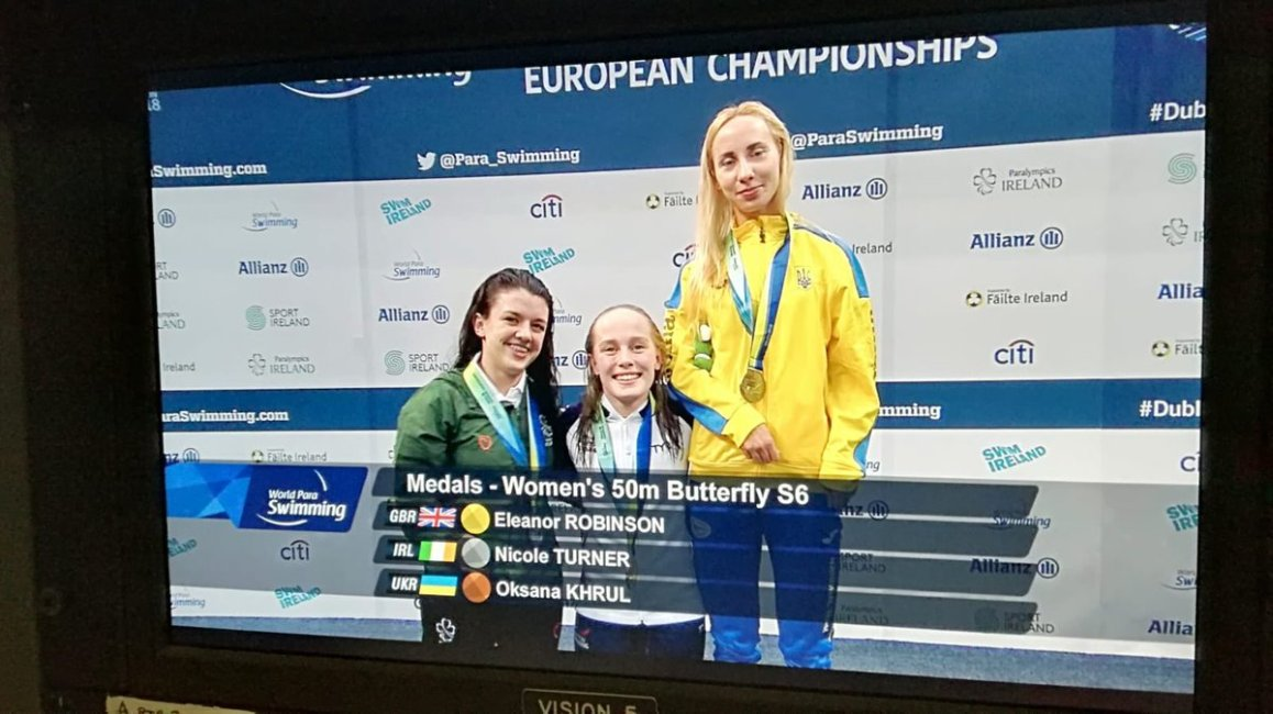 test Twitter Media - Nicole Turner wins Ireland's second medal of the @Paraswimming European Championships @ParalympicsIRE @AllianzIreland @swimireland @olympiccouncil  #Dublin2018 @nacdublin🥈 https://t.co/cwuWSVZoWG